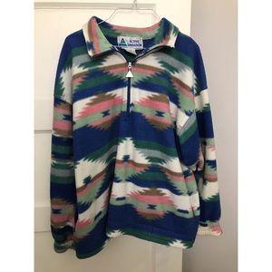Vintage pullover Aztec pattern